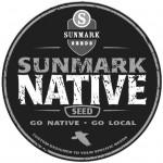 sunmark native seed badge BW